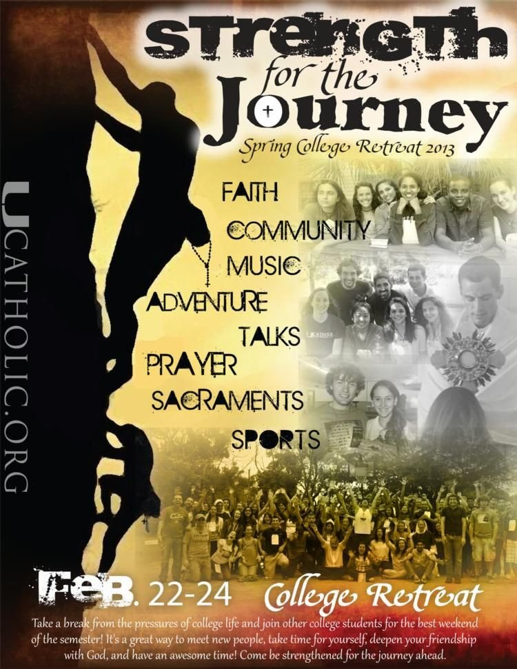 Youth Retreat Flyers Young Adult Ministry Flyers Google Search
