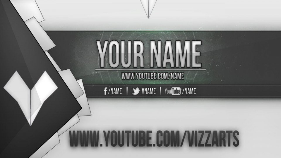 Youtube Banner Template Photoshop Banners Templates
