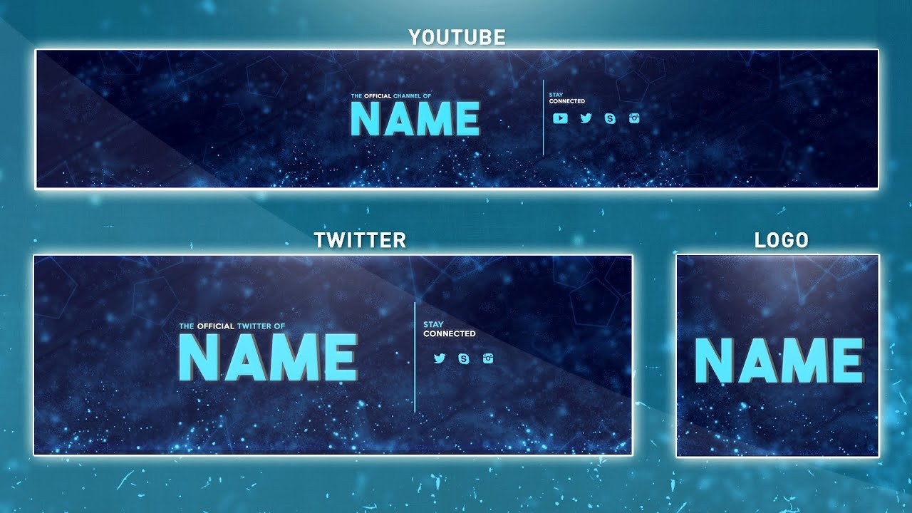 Youtube Banner Template Photoshop Free Banner Template