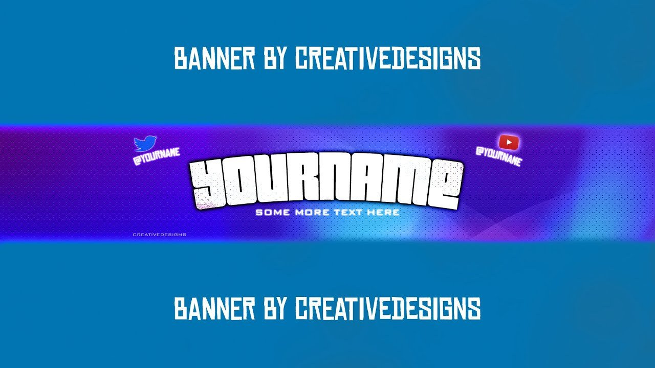 "Youtube Banner Template Photoshop Free Banner Template ""disco Banner Template"