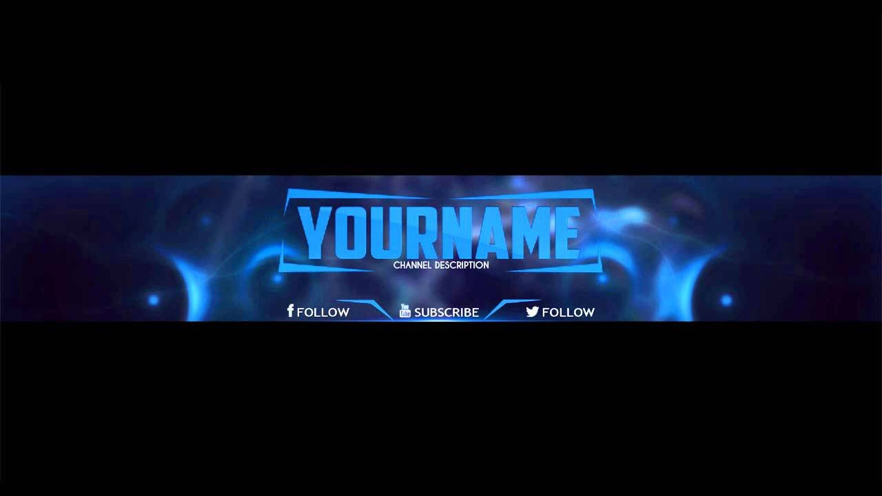 Youtube Banner Template Photoshop Shop 2d Banner Template 2
