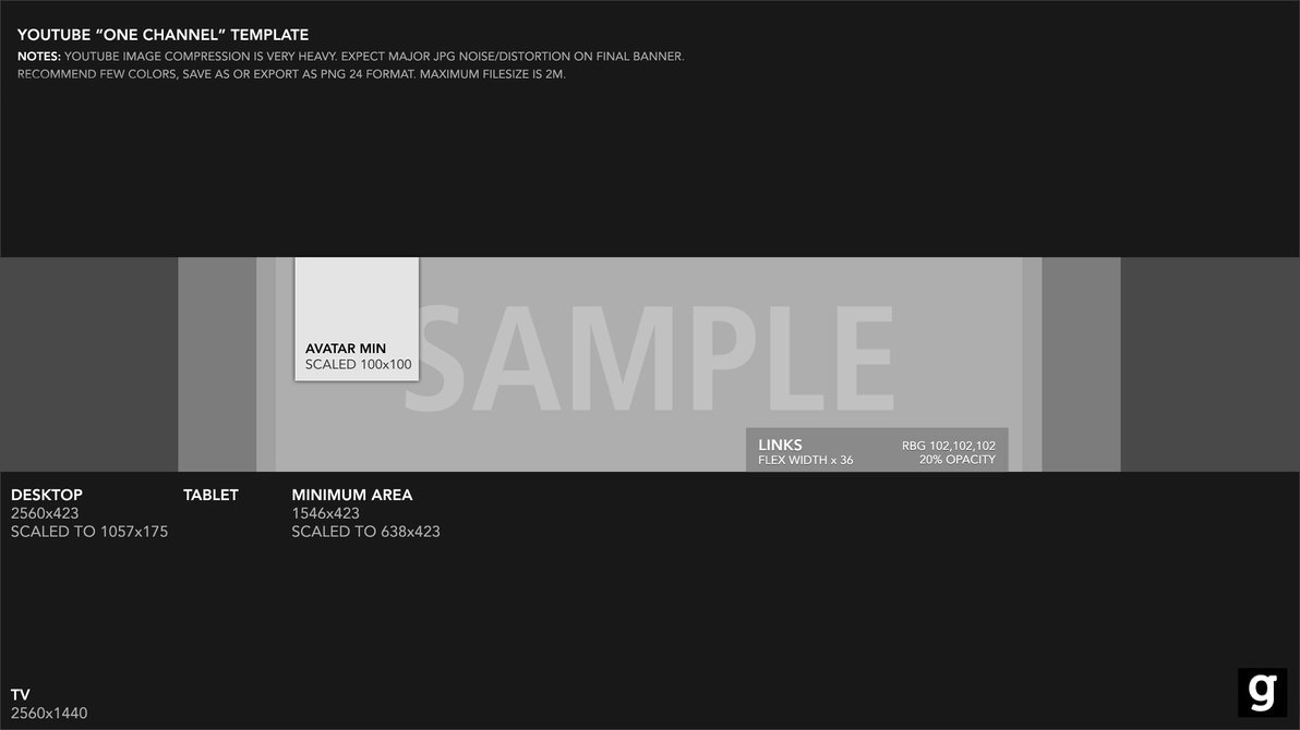 Youtube Banner Template Photoshop Youtube Banner Template 2015 by Garcinga10 On Deviantart