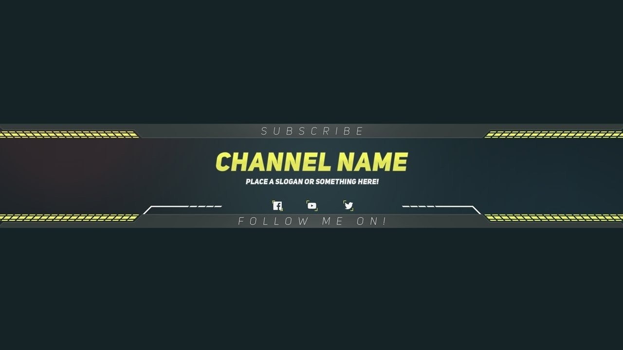 Youtube Banner Template Photoshop Youtube Banner Templates